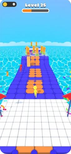波浪比赛3D
